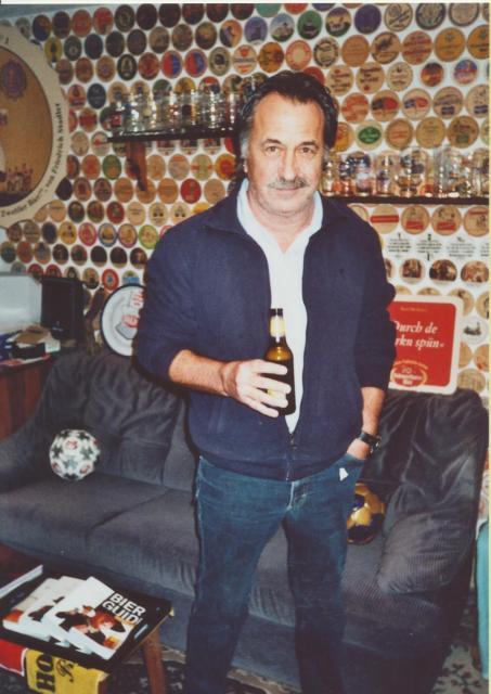 Gert Steinbäcker von STS ist Bierliebhaber