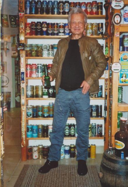 Boris Bukowski, Austropop-Legende, im Bierarium