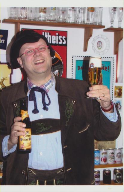 Auch Bierpapst Conrad Seidl war auf Besuch