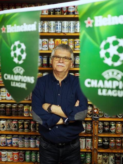 Auch Fußballer lieben Bier